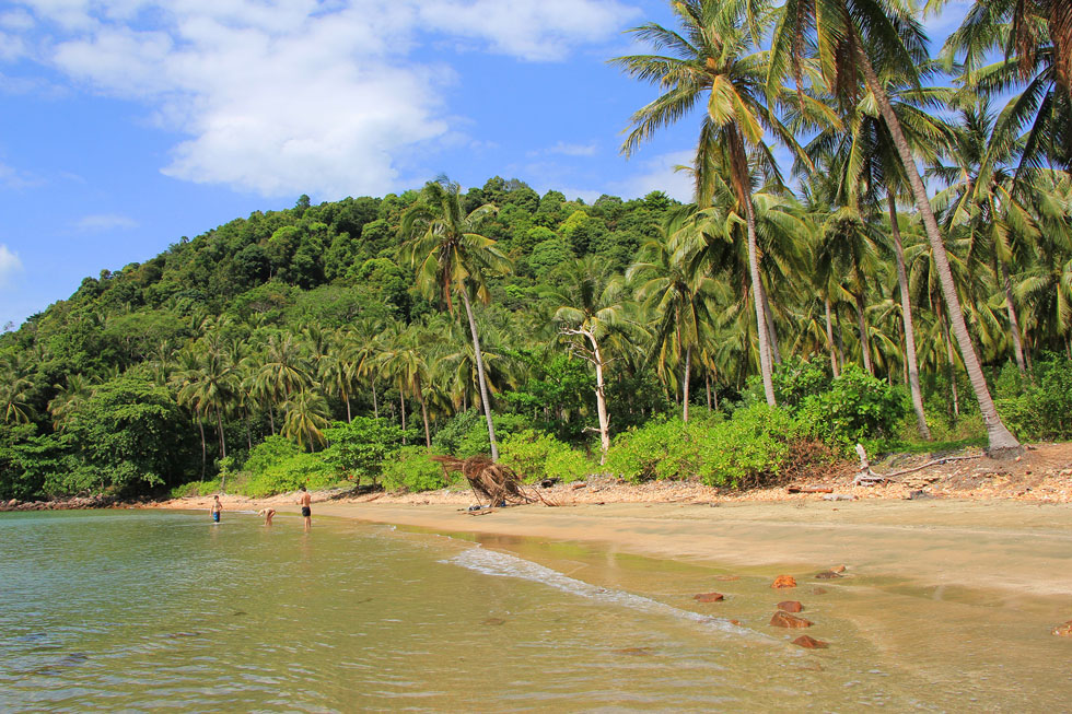 Coconut Beach in Koh Jum