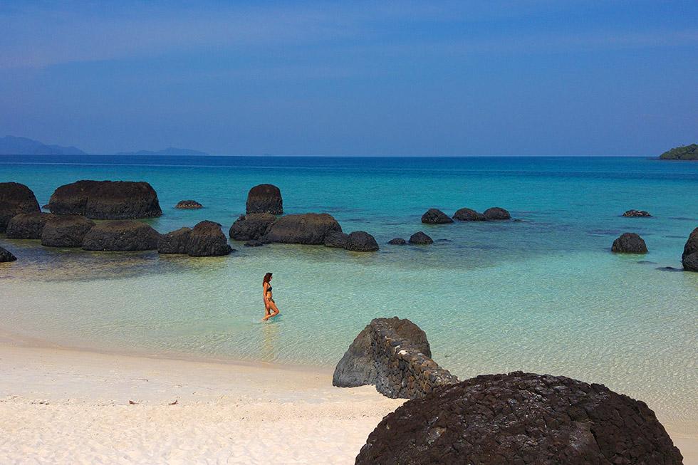 Koh Kham, small island near Koh Mak