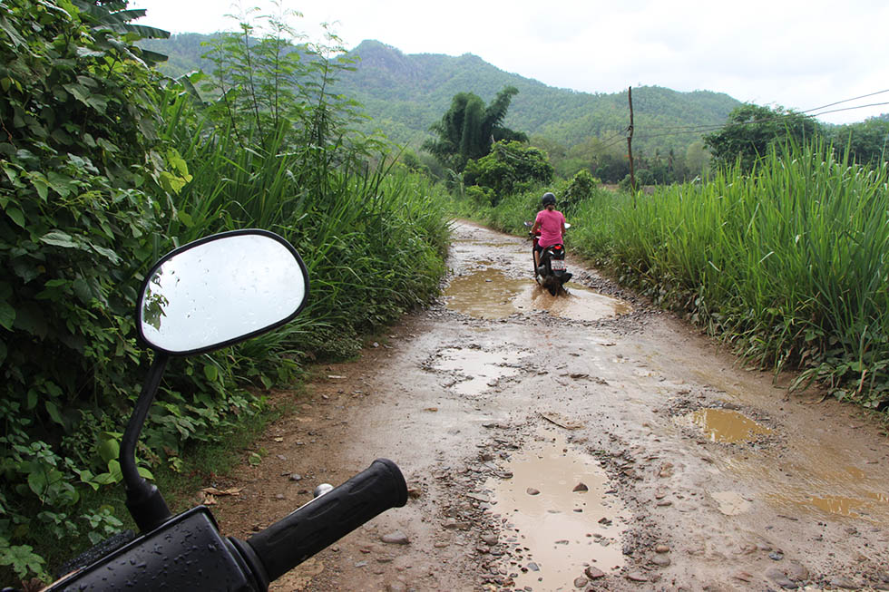 Going off-road in Mae Hong Son