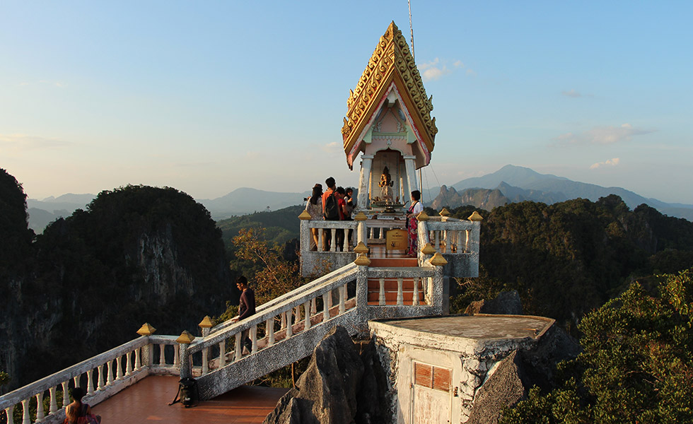 The Tiger Cave Temple