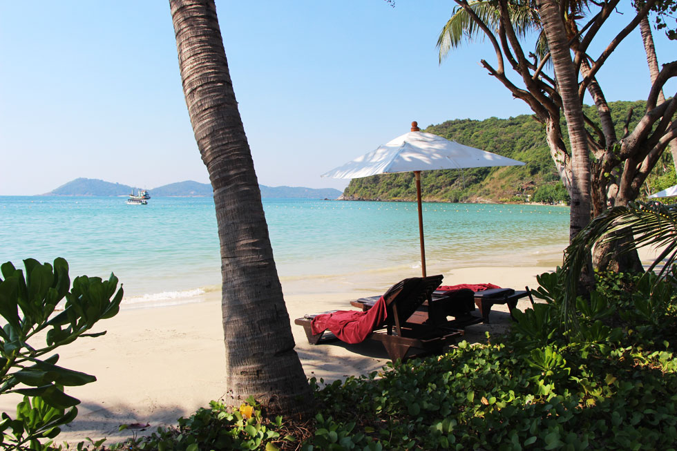 Lounging at Ao Prao Bay in Koh Samet