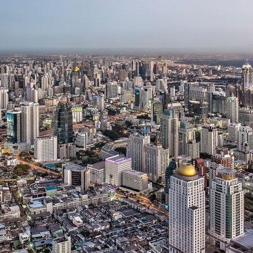 View from Baiyoke Tower in Bangkok