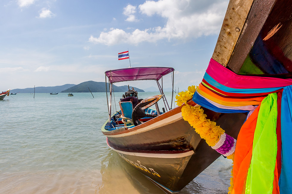 A Thai Longtailboat