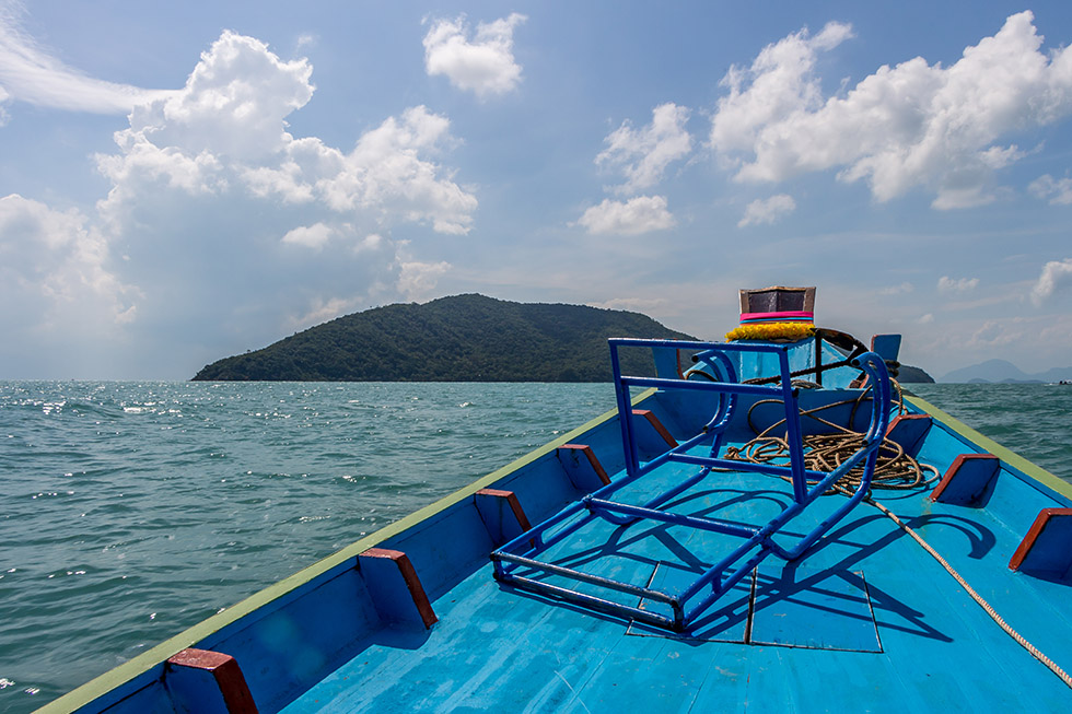 A boatride to Koh Tan