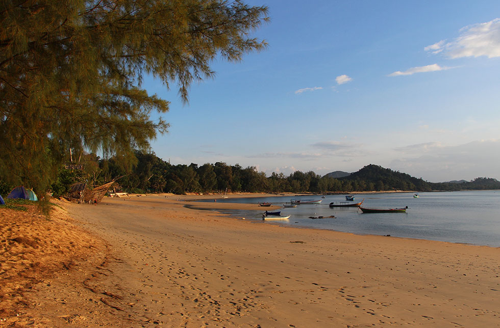 Beaches of Koh Phayam