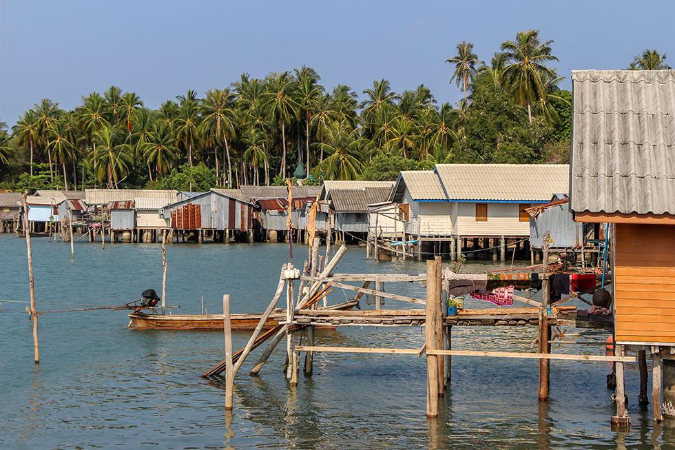 Fishermans Village in Koh Yao Yai