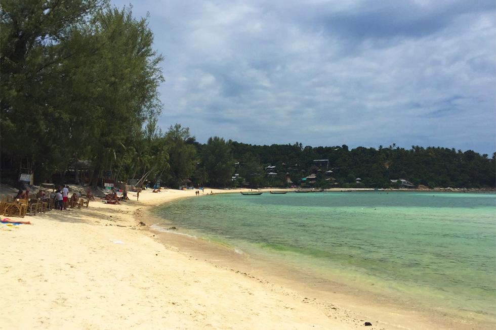 A lovely bay on Koh Phangan