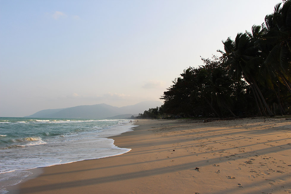 Lovely Khanom Beach