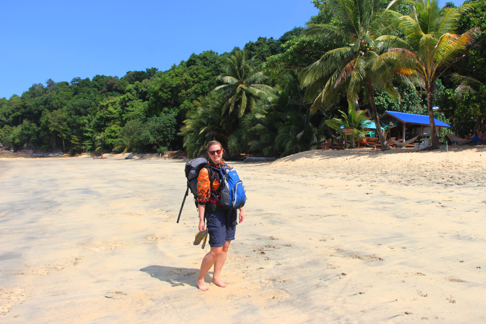Just arrived at Koh Chang Noi - Long Beach