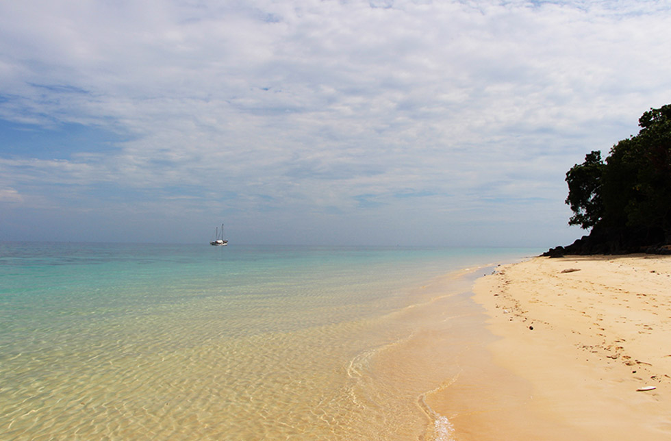 Empty beaches of Koh Rok