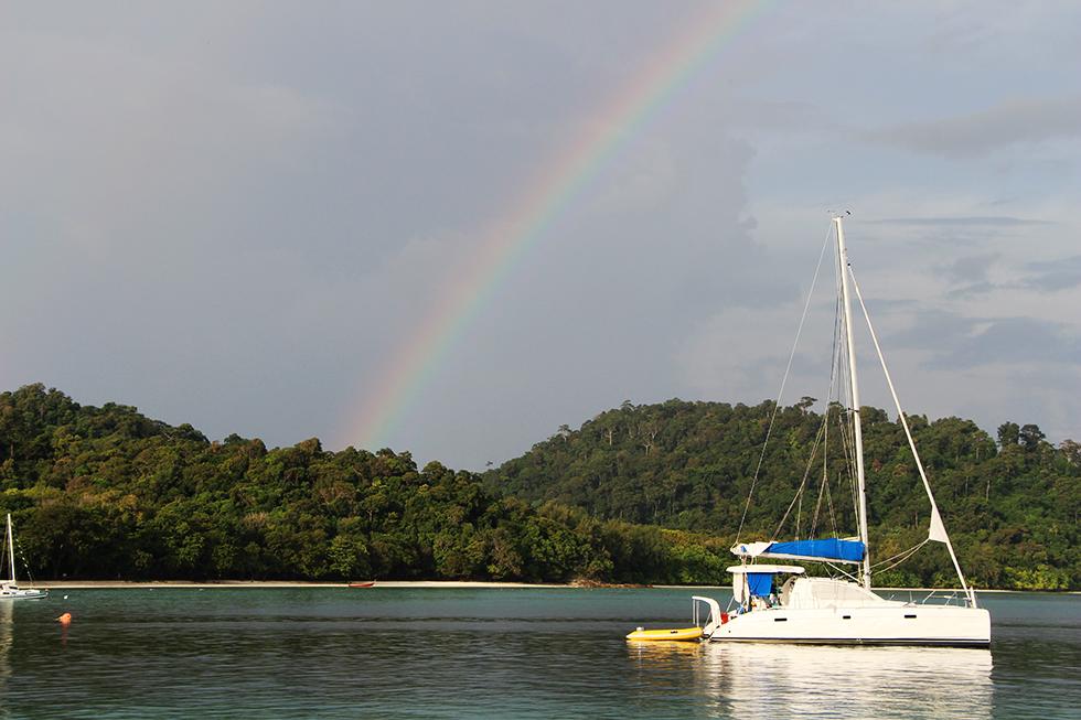 Sailing boats Koh Rok