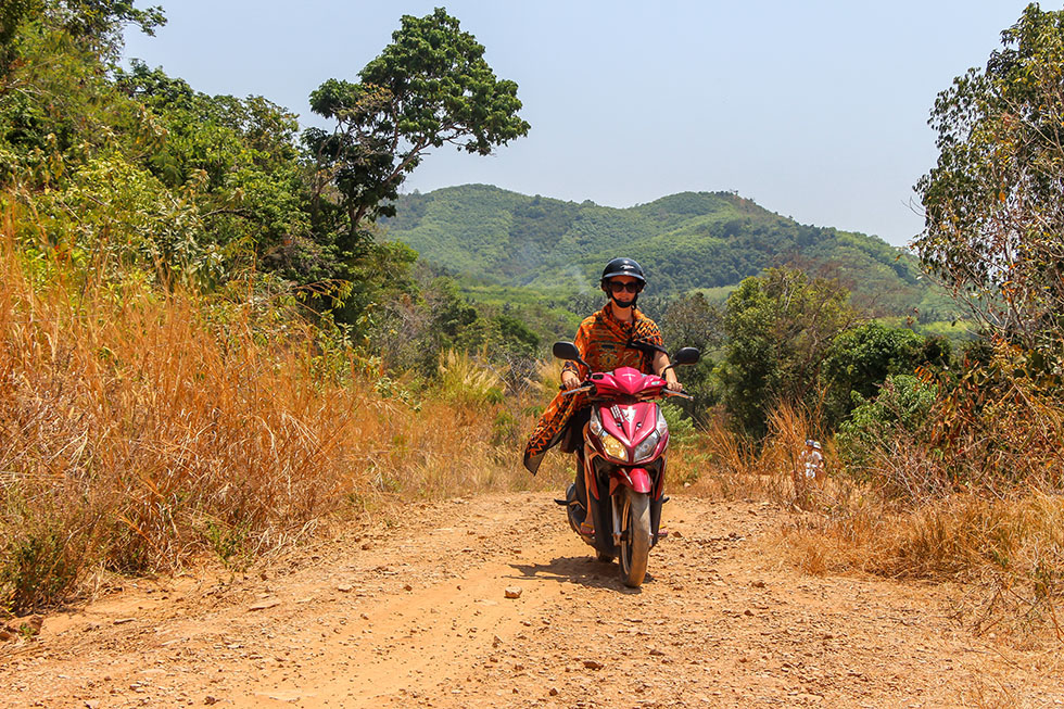 Going off-road in Koh Yao Yai