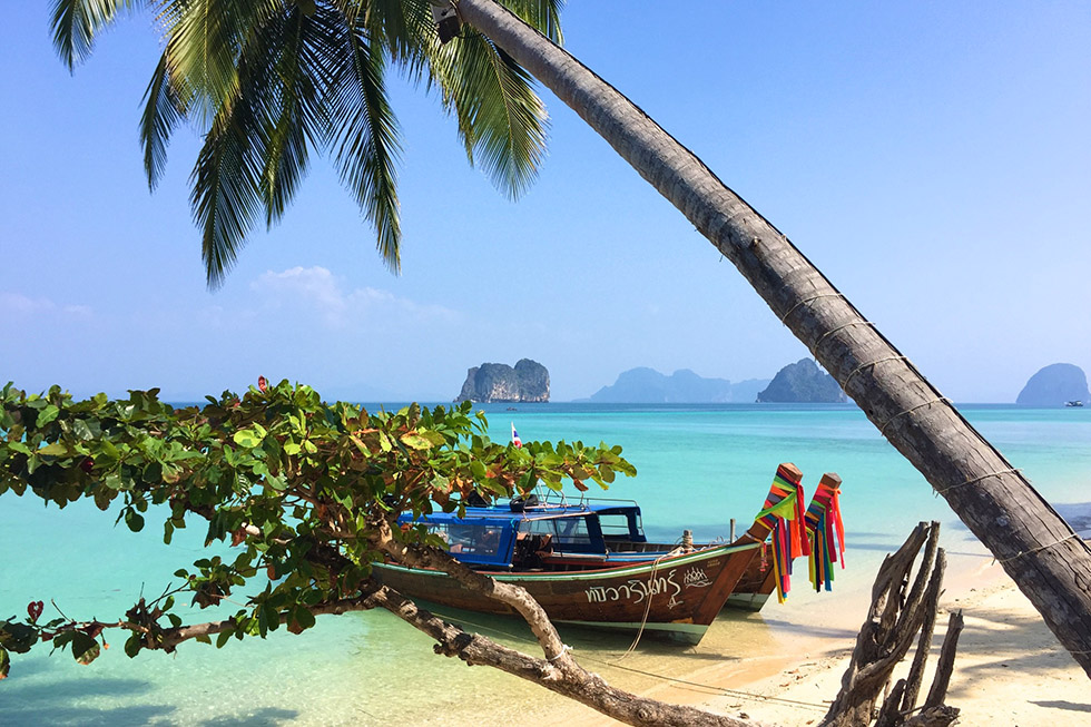 Paradise Beach in Koh Ngai