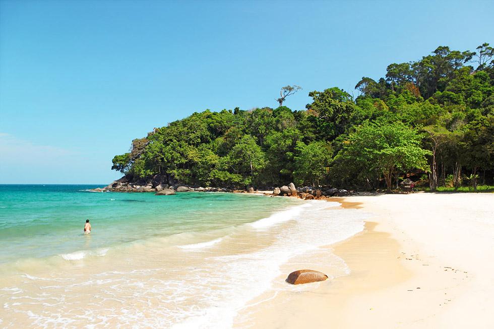 Small Sandy Beach in Khao Lak