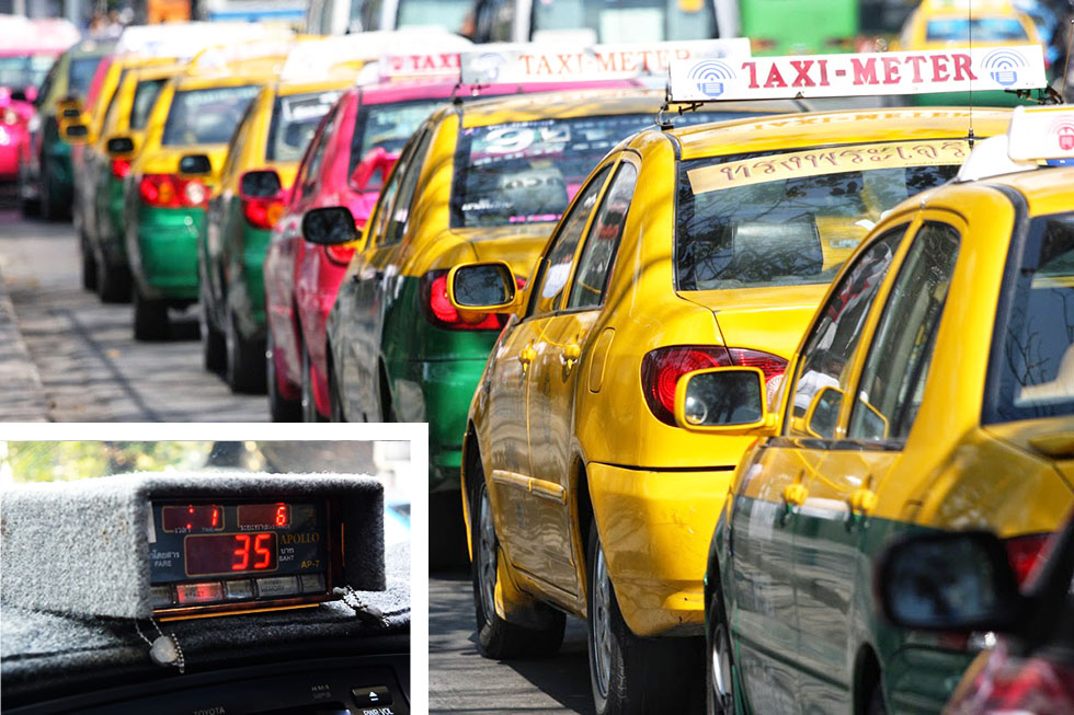 This is what a taxi-meter looks like