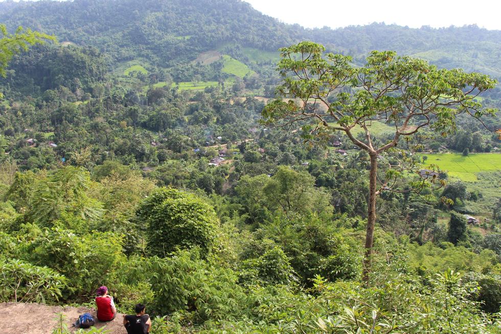 Stunning view after a long hike - Thung Yai Naresuan Wildlife Sanctuary
