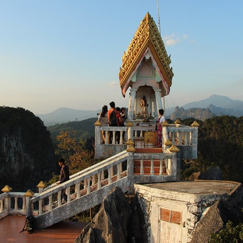 Shrine of the Tiger Cave Temple in Krabi