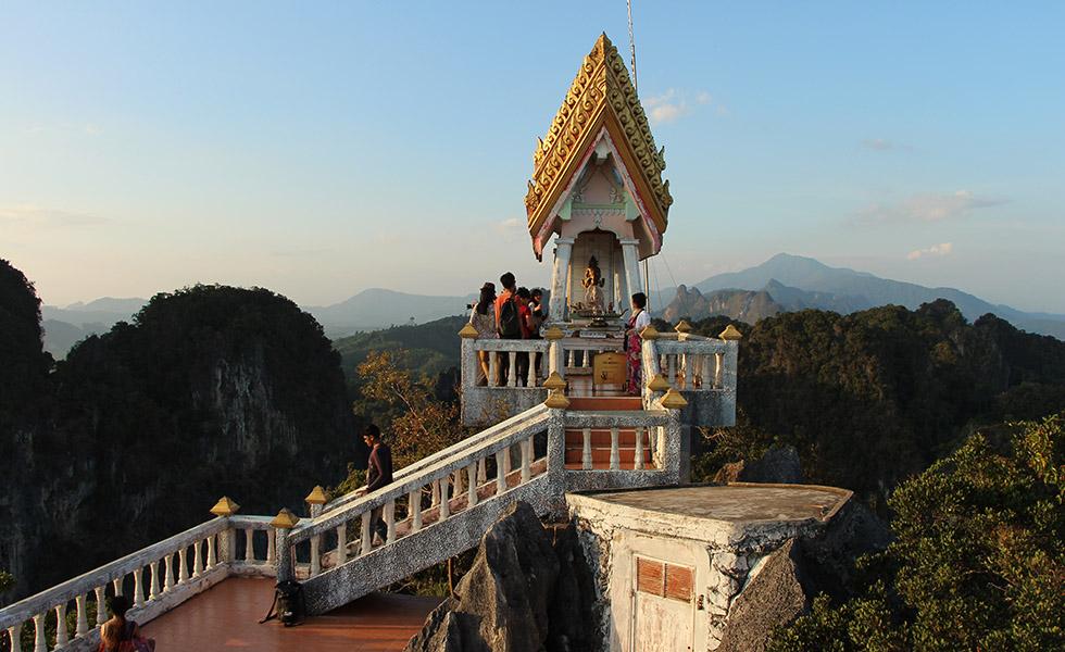 Shrine of the Tiger Cave Temple in Krabi