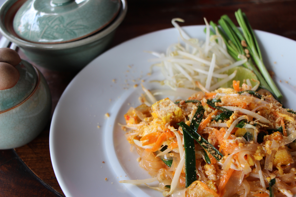 Pad Thai, a great dish