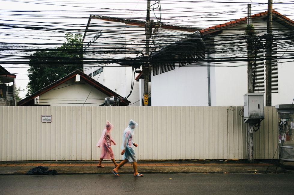 Always take a raincoat during the rainy season