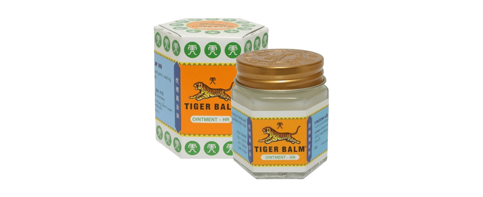 White tiger balm for insect bites