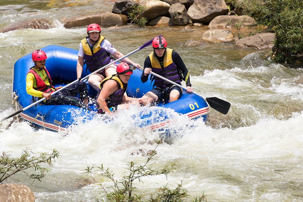 Whitewater rafting in Phuket
