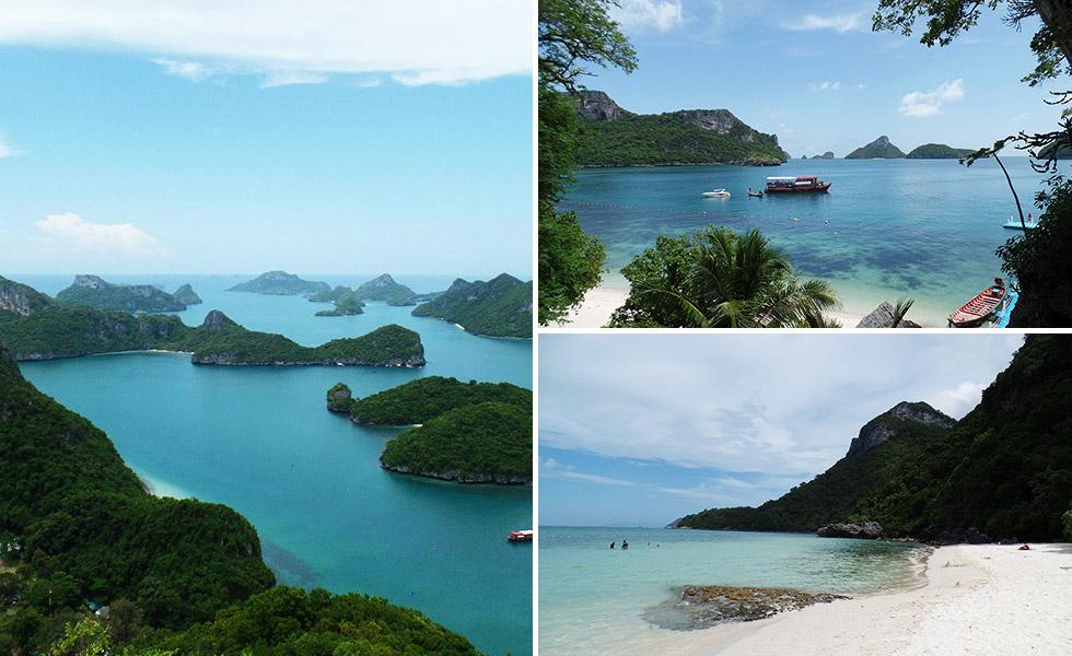 Ang Thong National Marine Park nearby Koh Samui