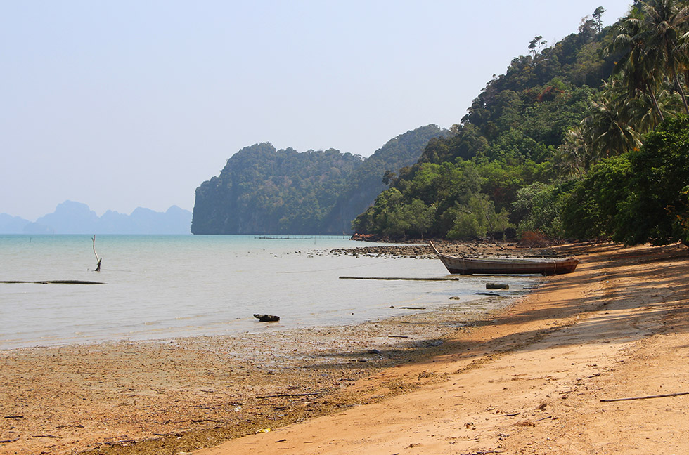 Beaches on Koh Yao Noi: deserted