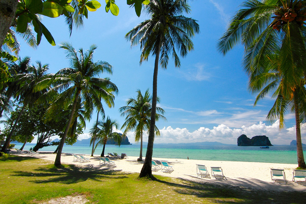 Koh Ngai is a paradise in Trang