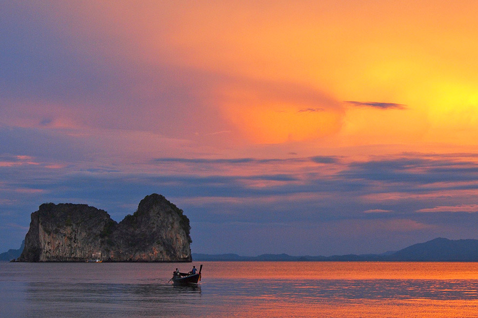 Sunset at Koh Ngai