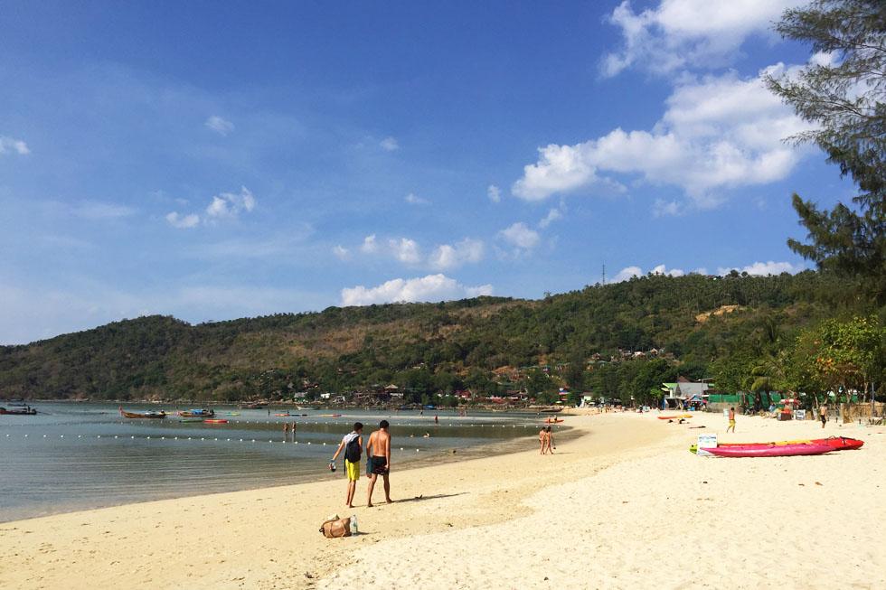 Lo Dalum Bay in Koh Phi Phi