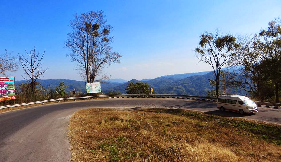 Road 1095 from Chiang Mai to Pai