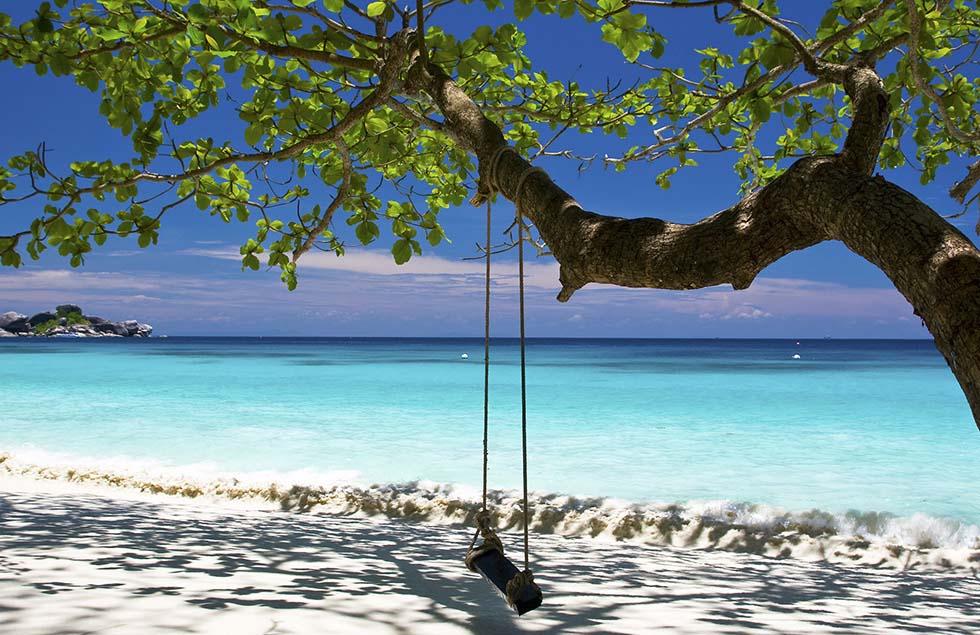 Swing at Similan Islands
