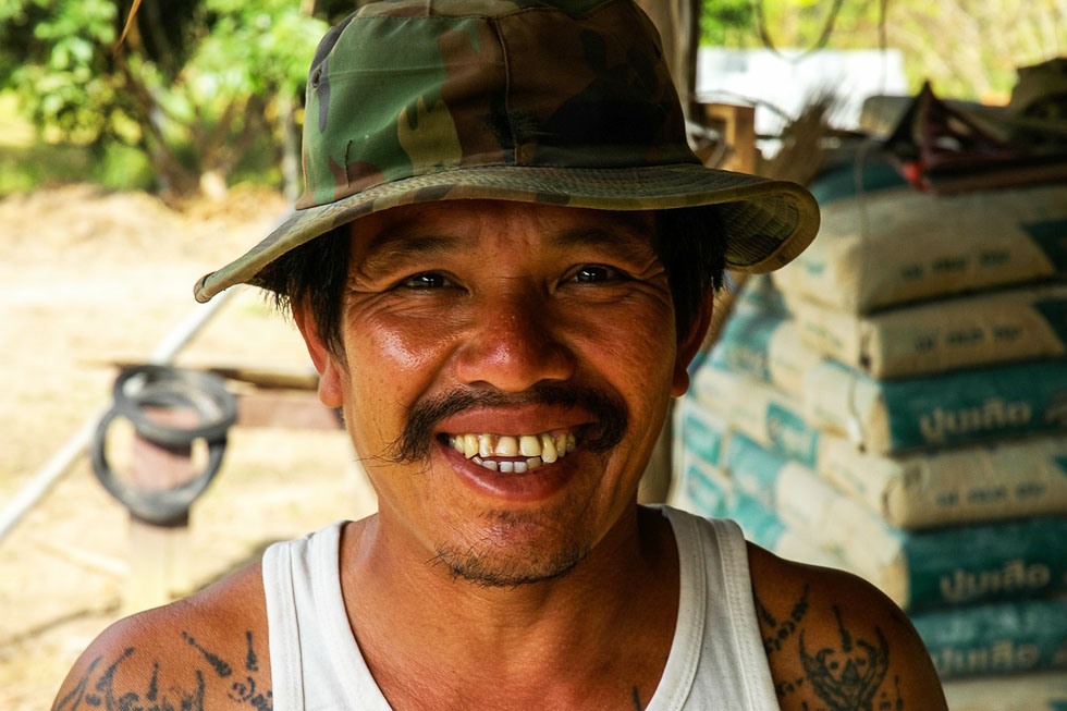 Thailand is famous for its friendly locals