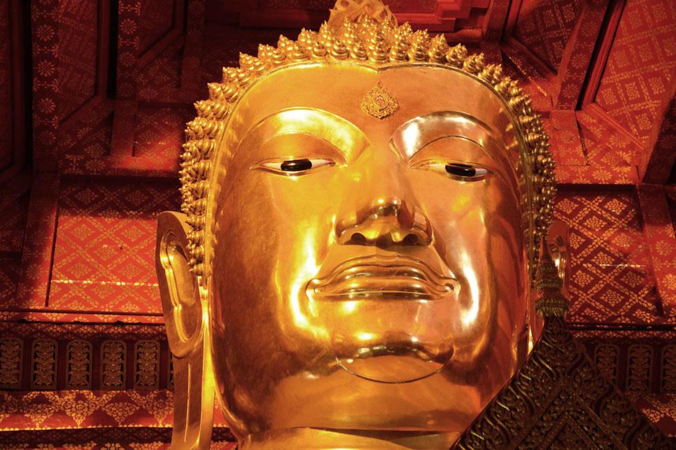 Wat Phangan Choen in Ayutthaya