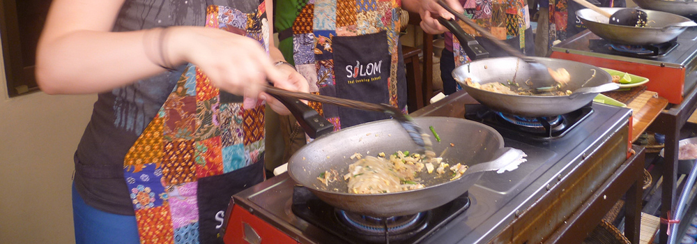 Learn how to cook Thai dishes