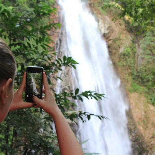 The Khun Korn Waterfall in Chiang Rai