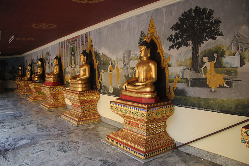 Buddha statues at Doi Suthep