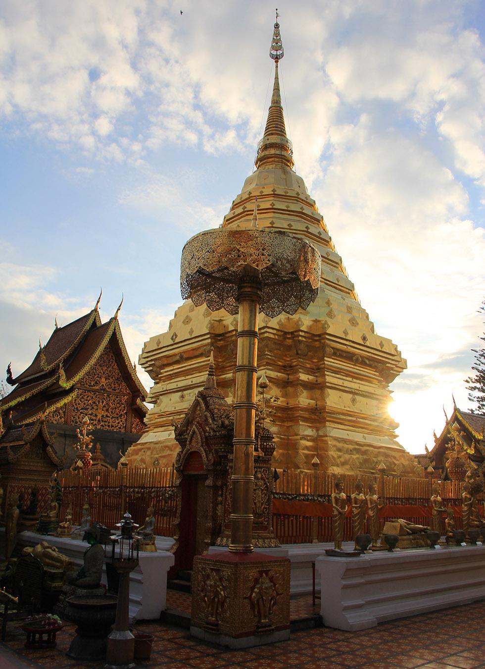 Pagoda at Doi Suthep