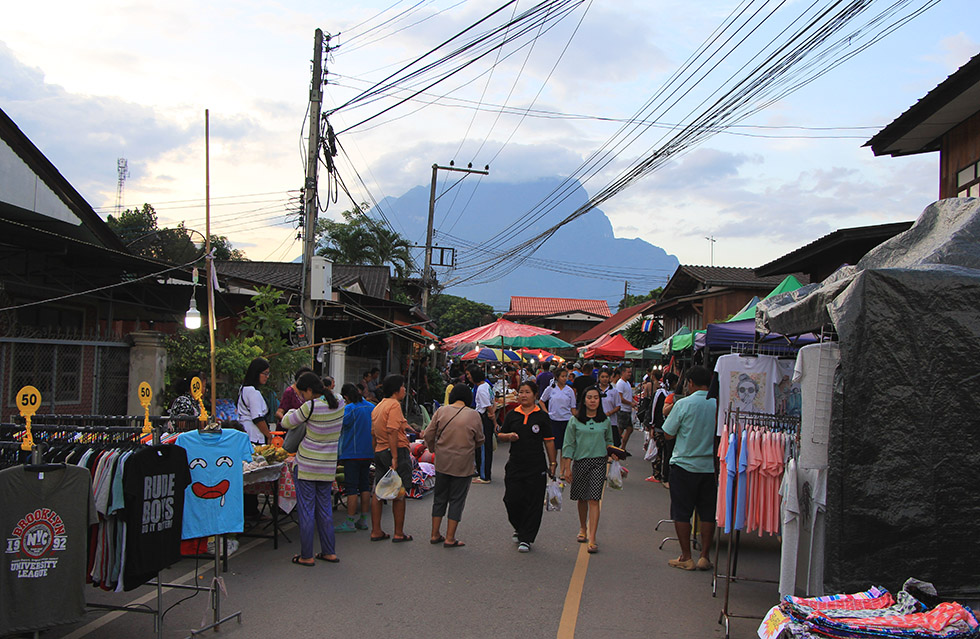 Chiang Dao's Walking Street