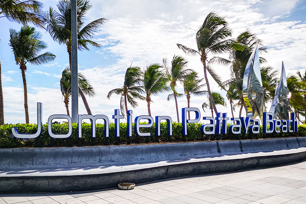 Jomtien Beach near Pattaya