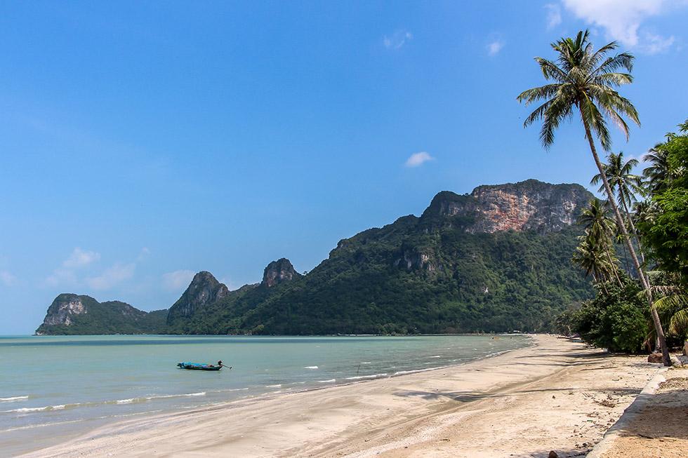 Nang Kam Beach in Khanom