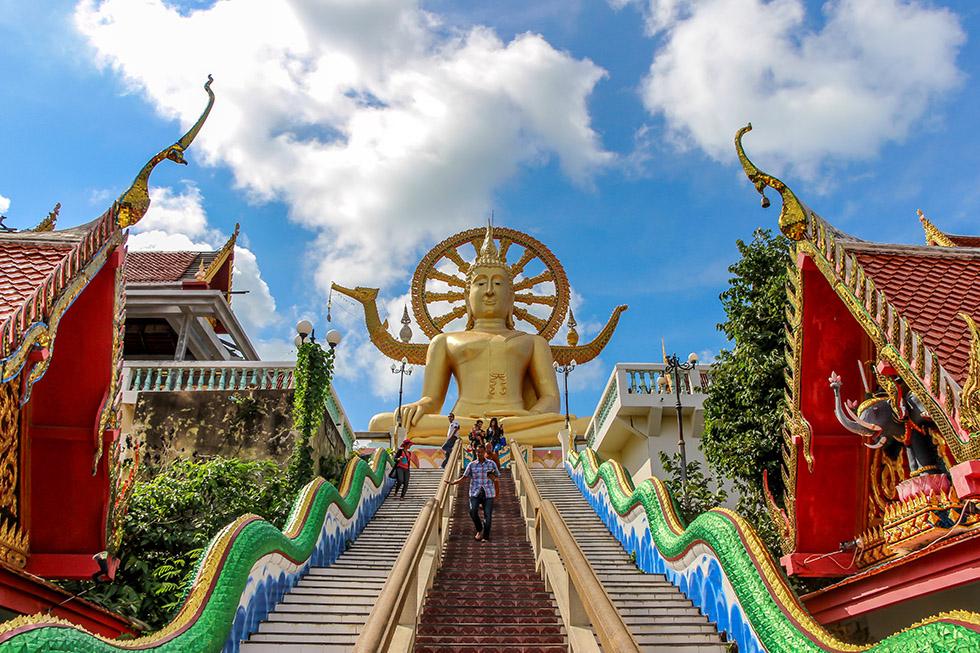 Wat Phra Yai, Big Buddha, on Koh Samui