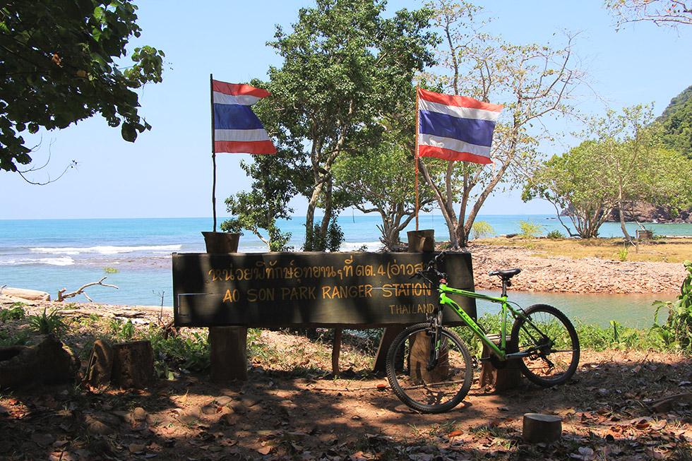 The best way to explore Koh Tarutao is by bike