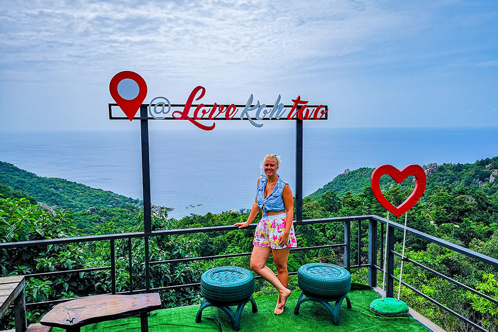 Love Koh Tao Viewpoint, Koh Tao