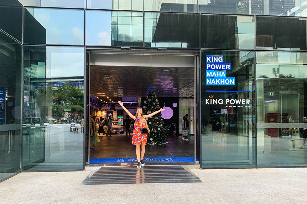Entrance of the King Power MahaNakhon SkyWalk