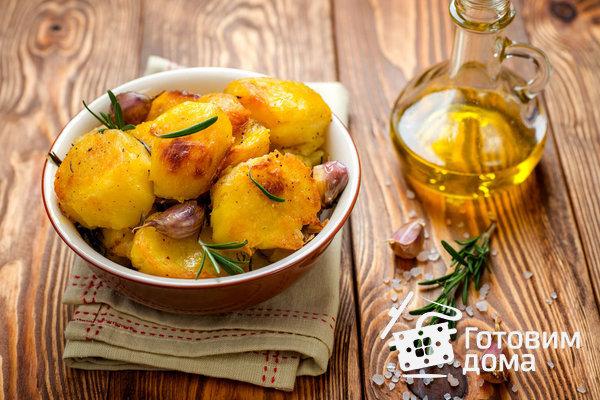 Идеальный запеченый картофель от Дж. Оливера фото к рецепту 6