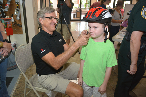 Bicycle Safety At Wheels Of Wellington