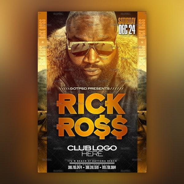 Rick Ross Flyer