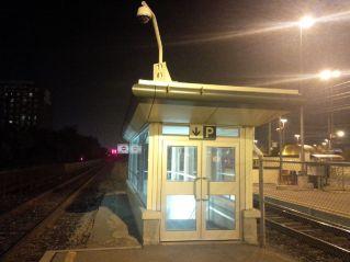 Platform Exit, Oakville Station, 10:30 p.m.